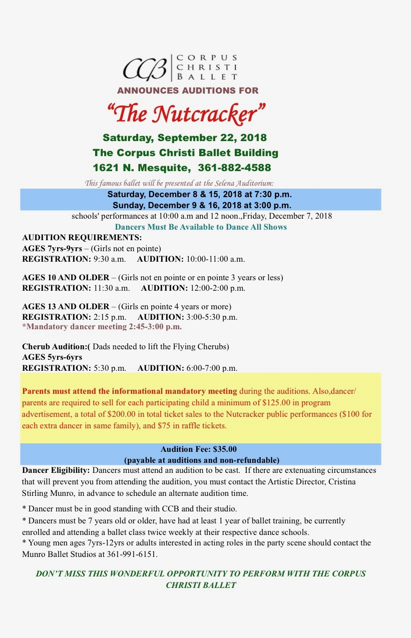 2018 Nutcracker Audition  Announcement Sheet1.jpg