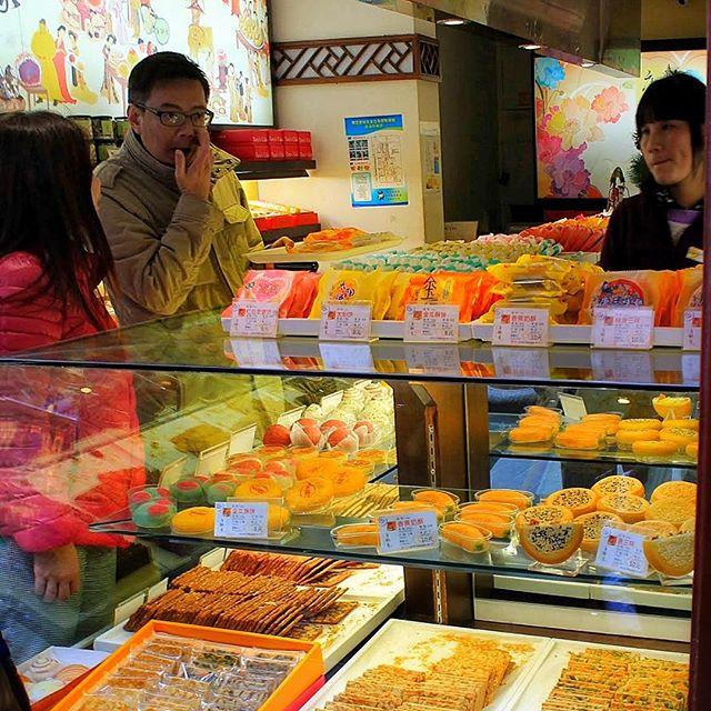 Sweets in Shanghai.