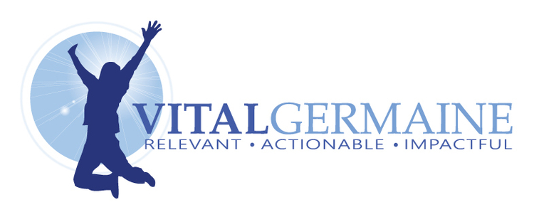 Vital Germaine: Top-Selling Author, Keynote Speaker, Team Trainer and Tradeshow Presenter