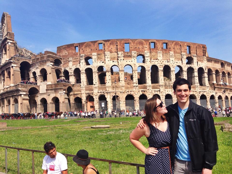 Lizzie McGuire & Paulo // Rome