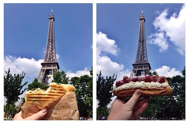 Déjeuner sous la Tour Eiffel // Paris