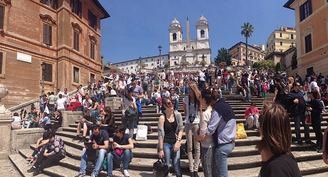 The Spanish Steps // Rome