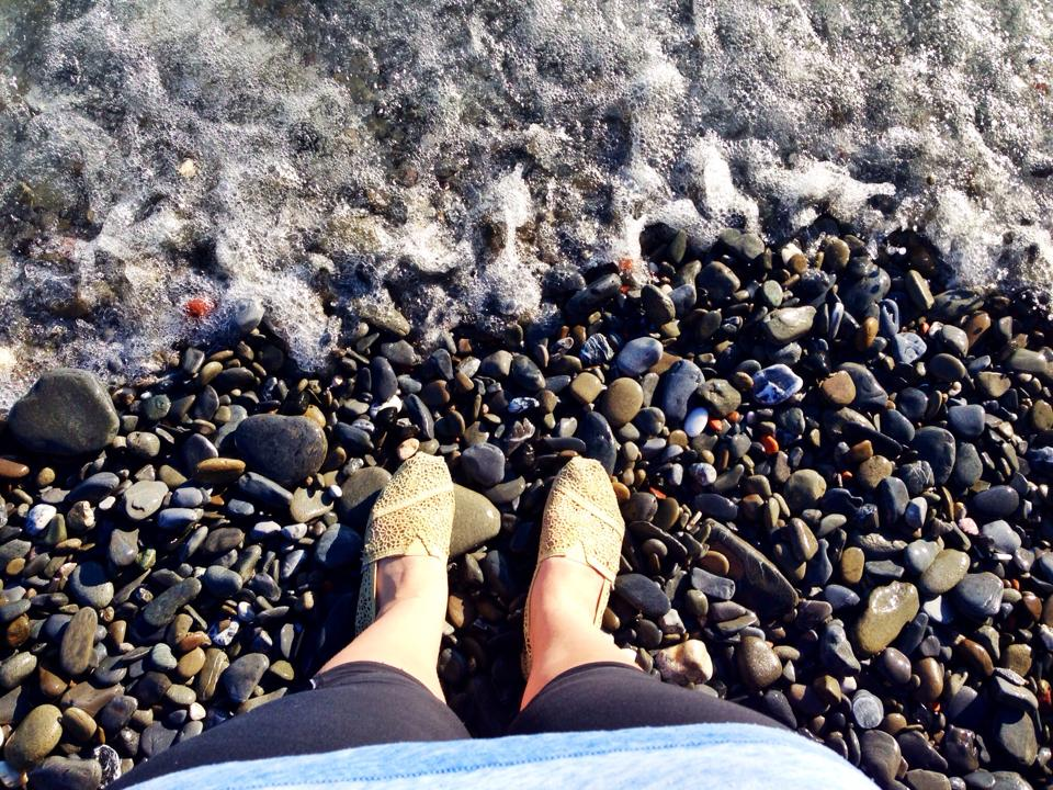 Pebble Beach in Vernazza // Cinque Terre
