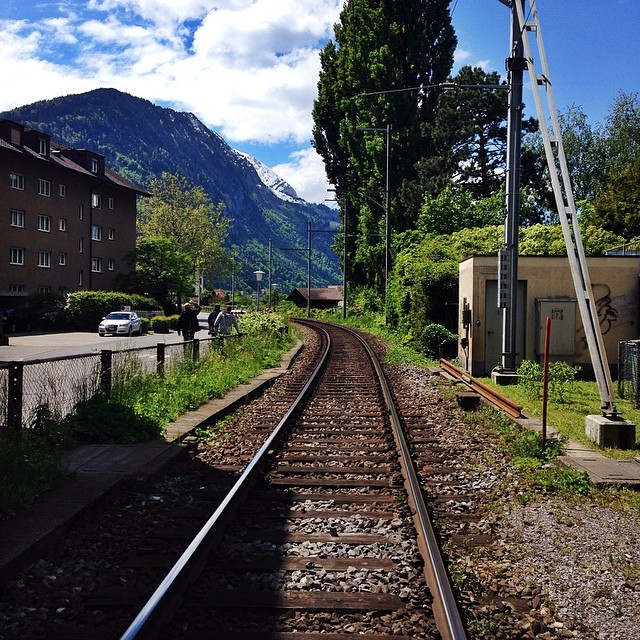 Local Train // Interlaken