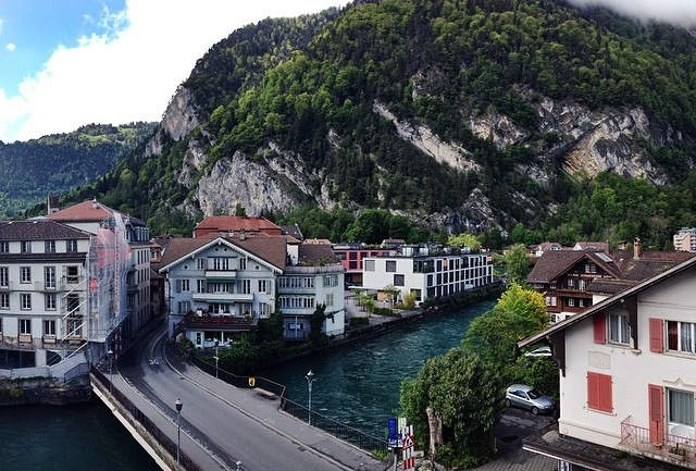 View From My Room // Interlaken
