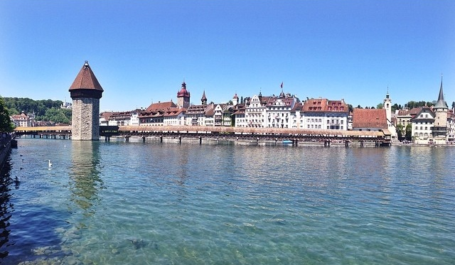 Aka. Harry Potter Bridge // Lucerne