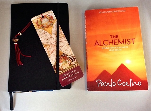 My journal & The Alchemist