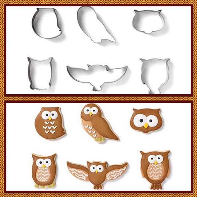 New adorable owl cookie cutters now available! We are just dying over that cute little face... And it could be used for a little kitten face or any adorable animal. Which would you use the most? #cookiecutters #owlcookiecutters #hugecookiecutterselection #eastvalleycakedecoratingsupply #customcookiesupplies #customcakesupplies #cakedecoratingsupplies