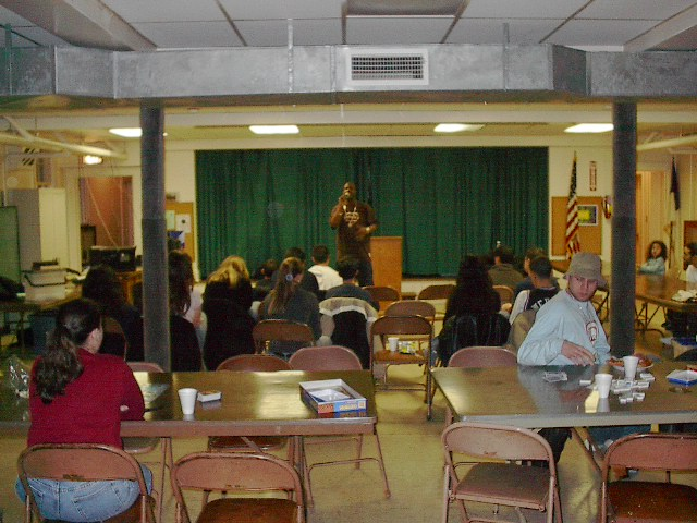 The very first night of Bridge: Elmora in the Elmora Presbyterian Church. 04/04/2003