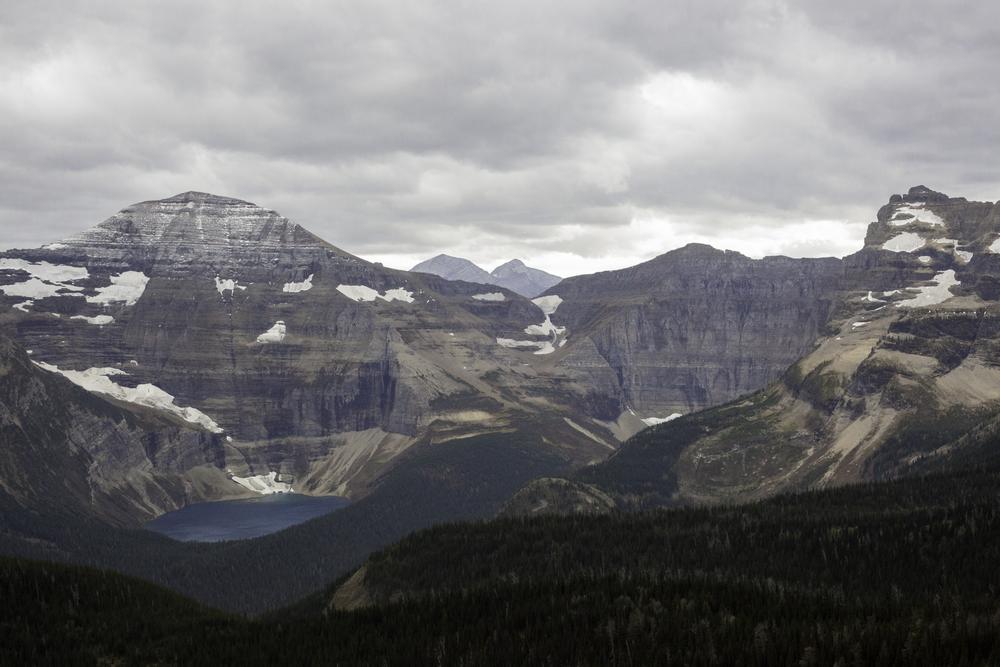 Mountain therapy. Waterton, Alberta