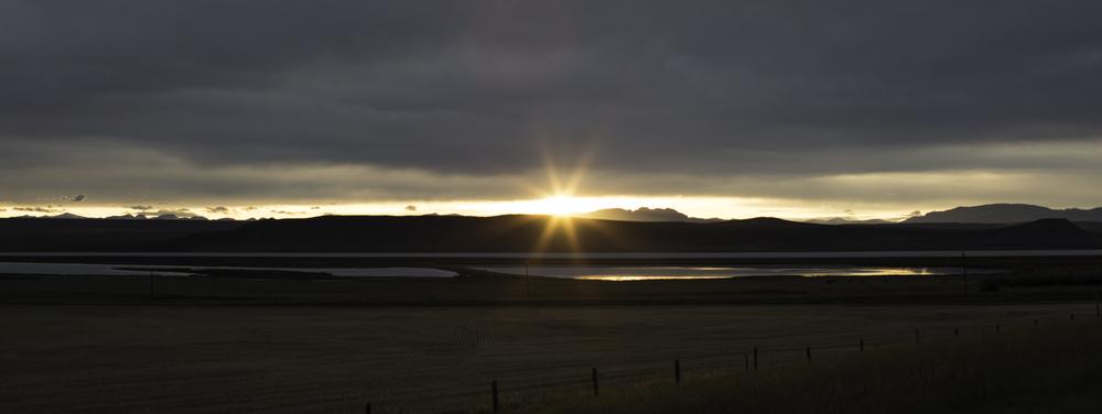 Montana had a pretty stellar sunset!