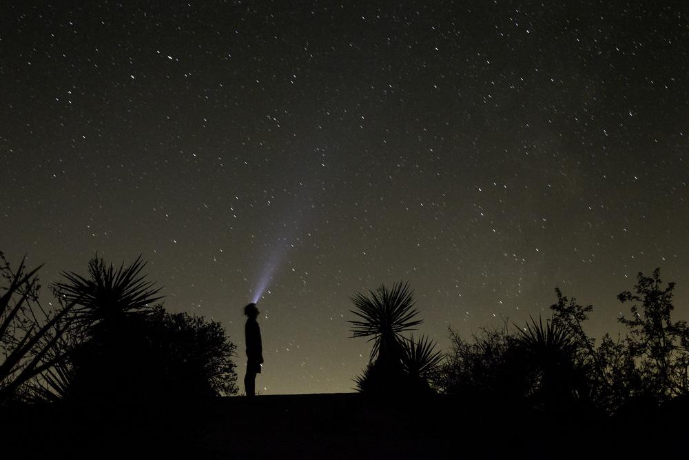 Gazing at stars, southern California!