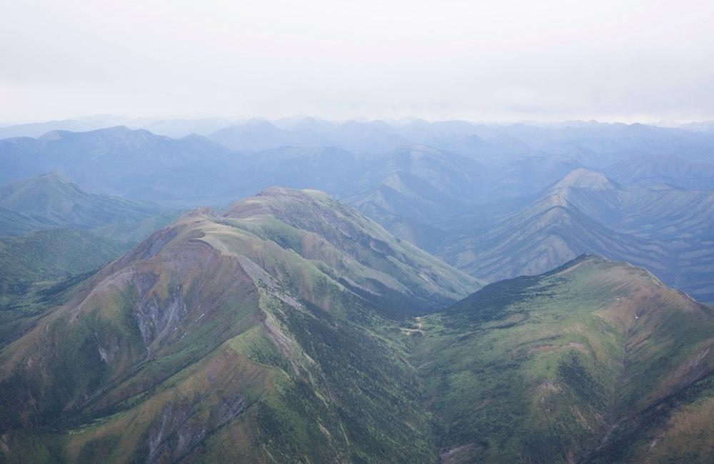 Imagine the dinosaurs running through these hills...