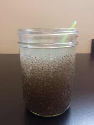 My chia seed hydration drink