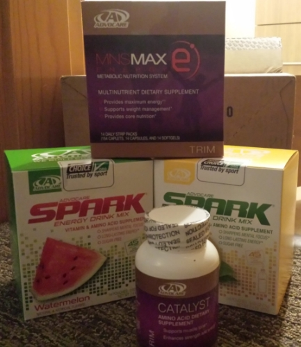 Spark Energy Drink, Catalyst and MNS-E ready and waiting!