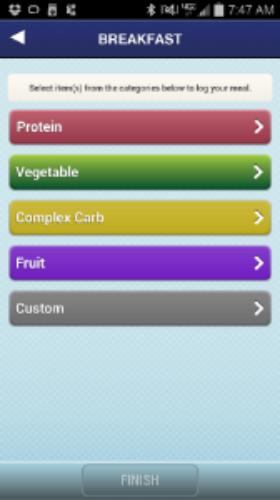 advocare-app-food-log