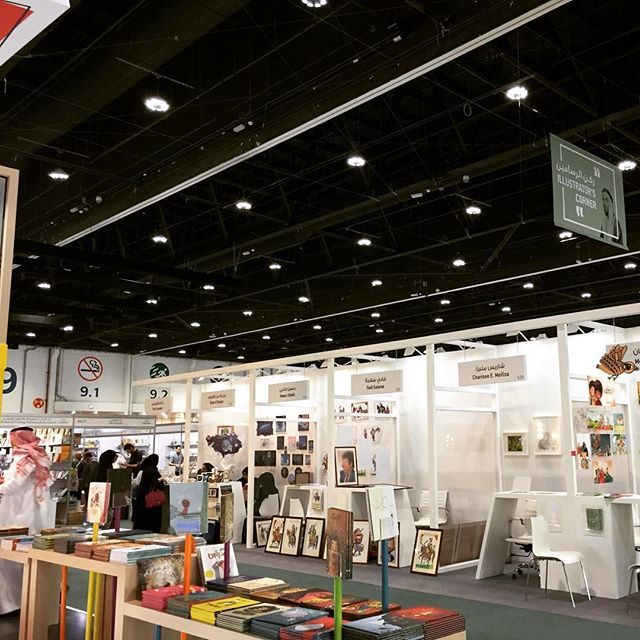 What a brilliant morning spent roaming the halls of the @abudhabibookfair - wonderful to see so many publishers and people getting so much enjoyment from books. Hooray for printed books! 📚📚📚 #adibf2018 #adibf #adnec #publishing #books #bookpublishing #publisher #bookprinting #bookstagram  #foreignlanguagebooks #abudhabi #bespokebookproduction #smallbutmightyproductions