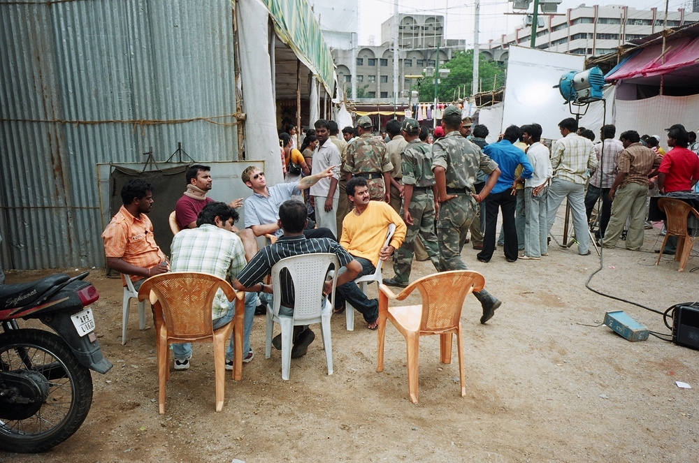 Film set / Hyderabad, India
