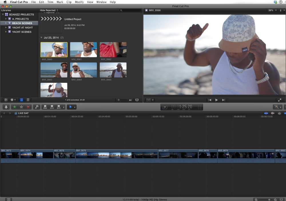 Final Cut Pro X Post Production
