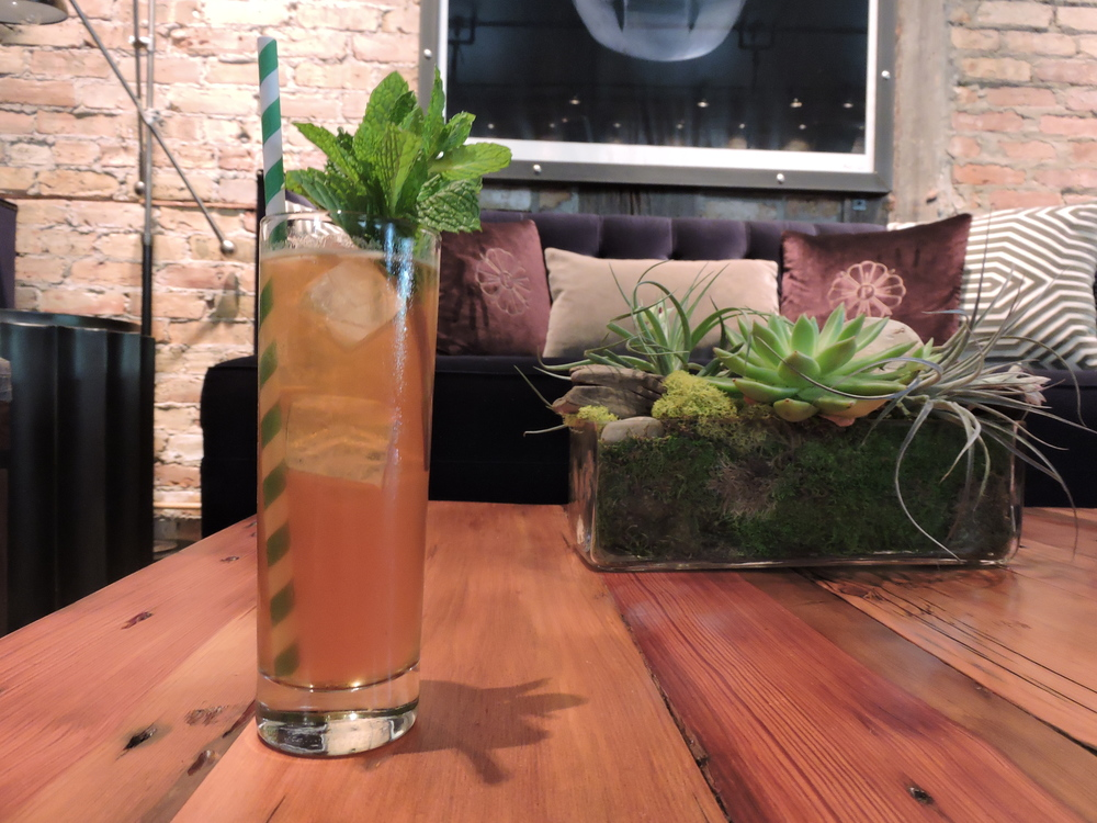 Love & Haight - Gin, strawberry infused Pimm's, preserved lemon cordial, soda, mint