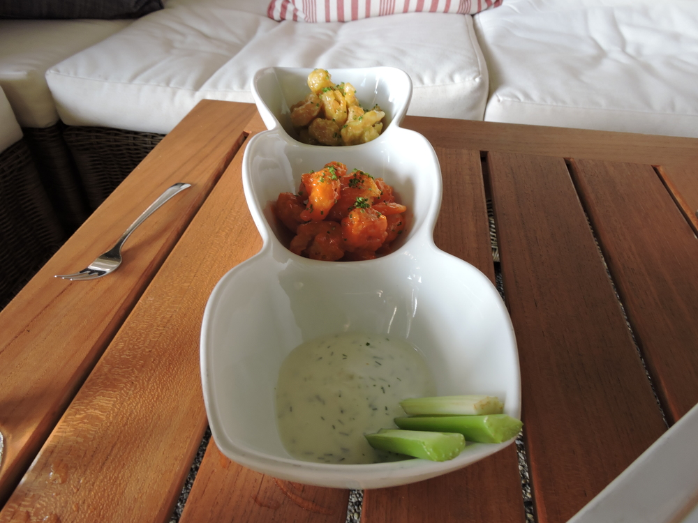 Rock Shrimp Tempura - spicy kochujan sauce, wasabi aioli