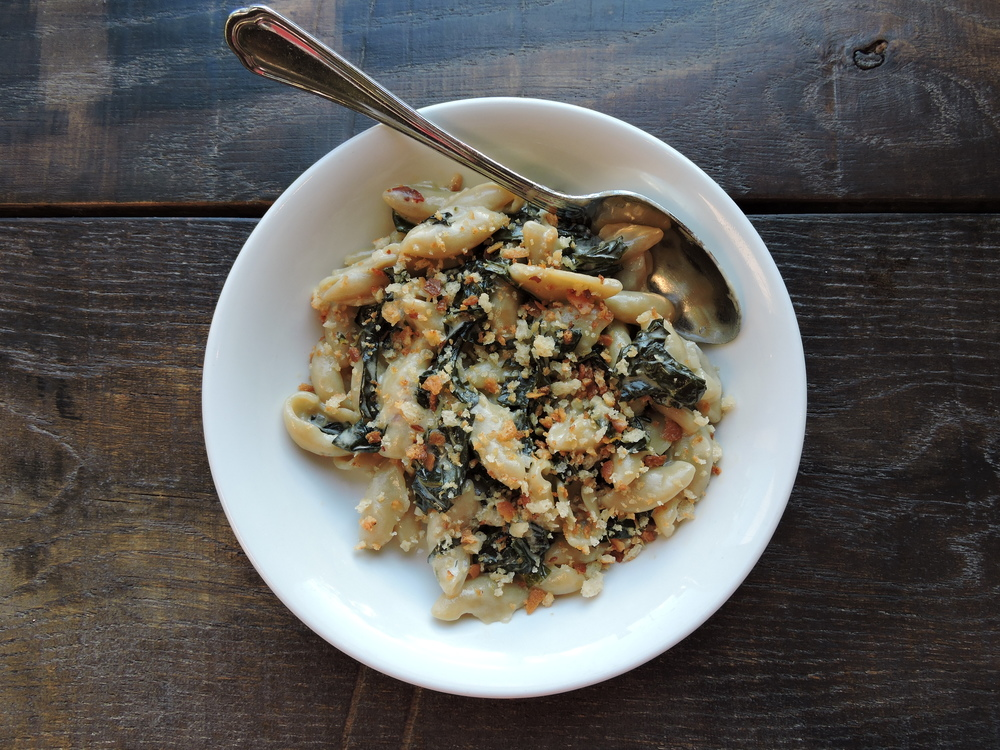 Orecchiette  - kale & lemon crema