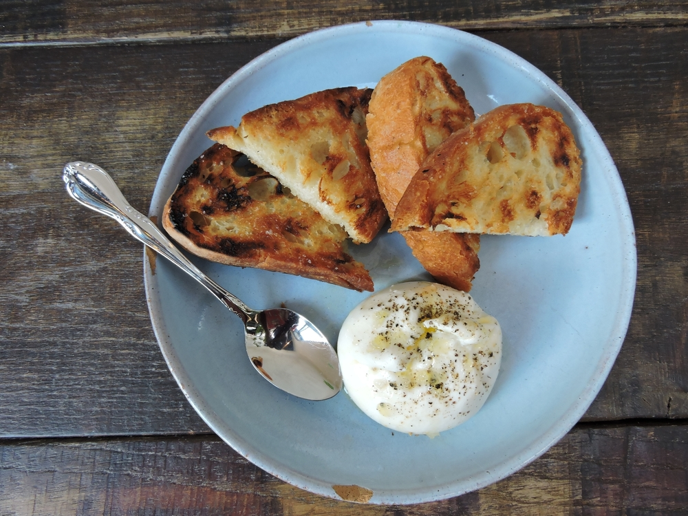 Burrata Di Panna - olive oil & sea salt