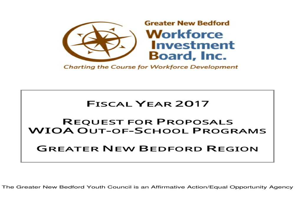 Click for details on the latest RFP!