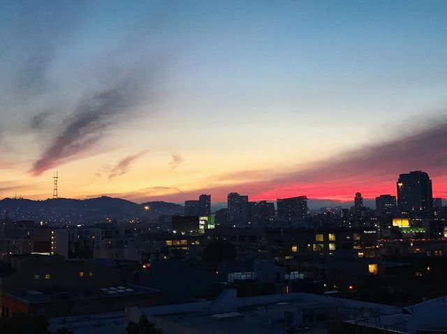 Sf sunsets never disappoint