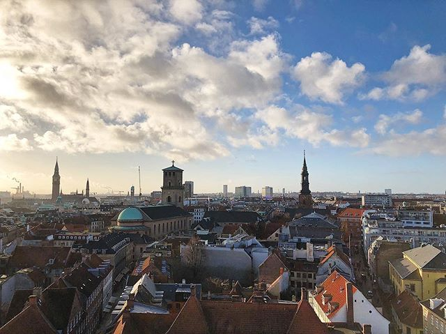 Looking over the roofs of Copenhagen 🏡 #nofilter #visitdenmark