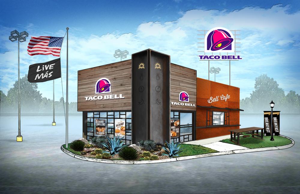 Taco Bell Store Design Daniel Chu