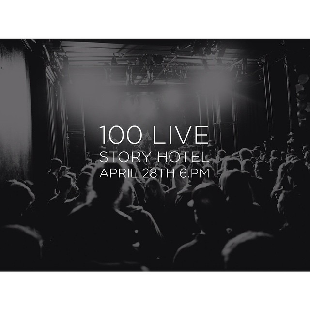 It's time for another 100 LIVE! See you tomorrow at 6:30 pm @storyhotel_riddargatan ! On the stage you will find @timsheltheband @dreamlakemusic @elinbergmanofficial + a very special guest! #100LIVE #Music