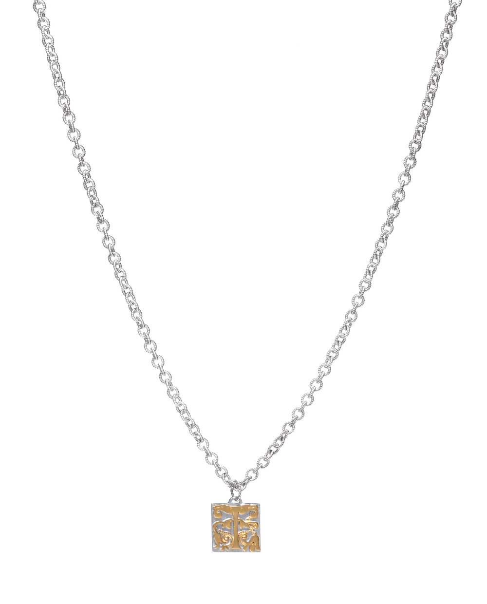 iKuria: Alchemist's initial necklace gold - Hiphunters Shop