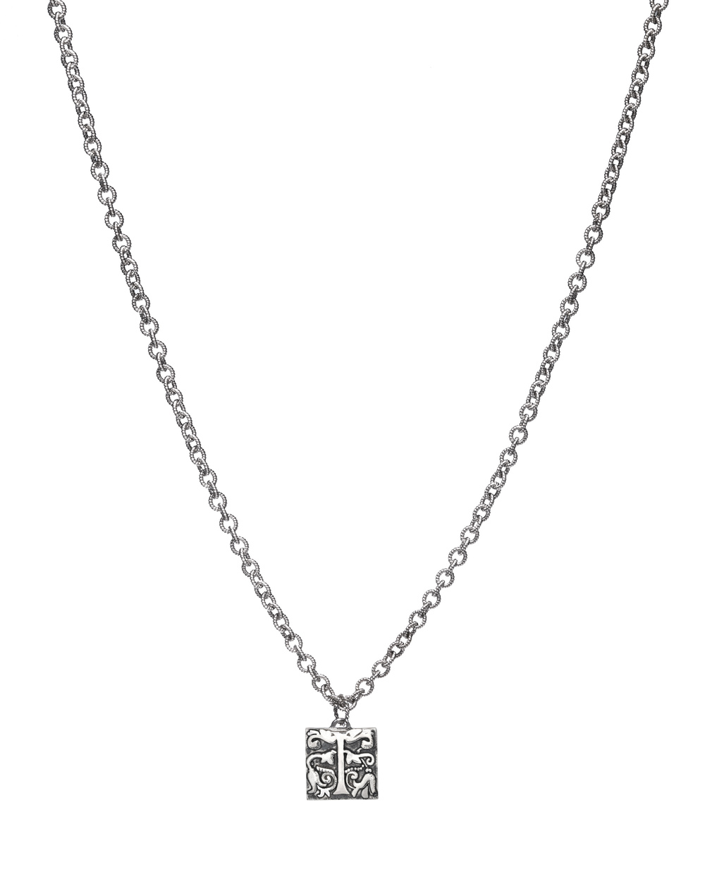 iKuria: Alchemist's initial necklace silver - Hiphunters Shop