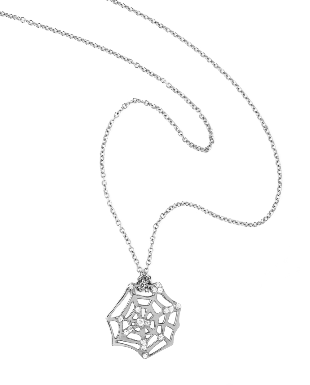 iKuria: CATCH silver and diamond necklace - Hiphunters Shop