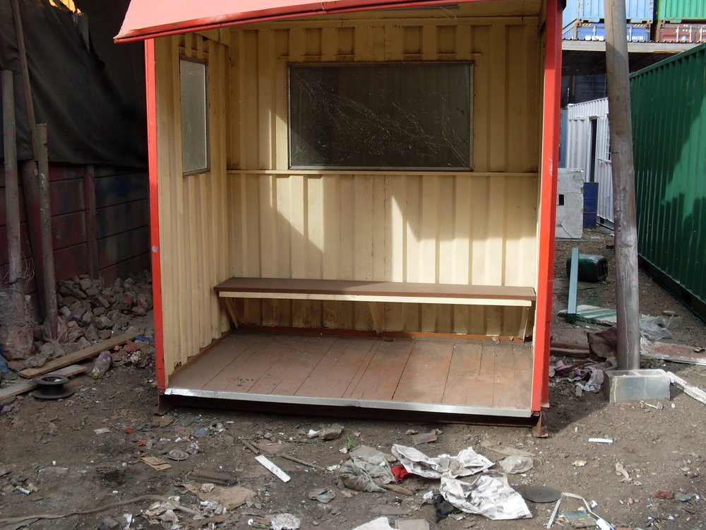 #containerbusshelter