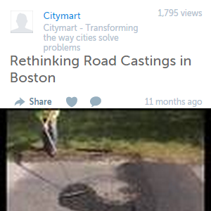 Rethinking Road Castings in Boston