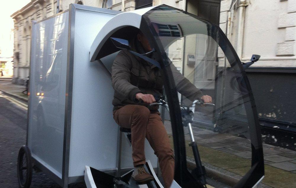 Electric cargo bikes -