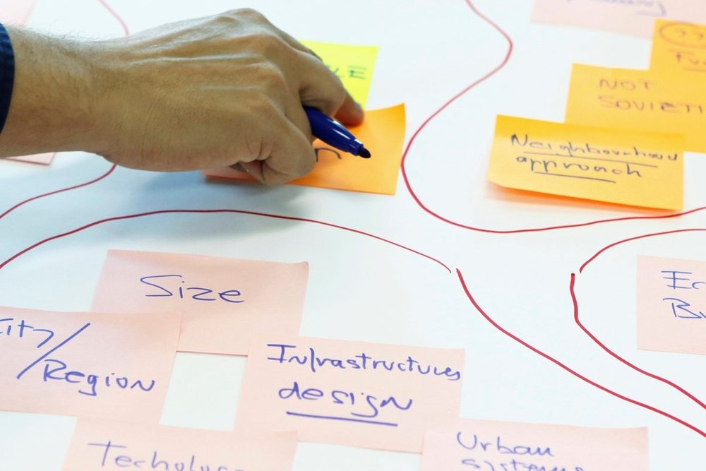 Strategy & Training - Our experts deploy their skills and unique first-hand experience to help our customers develop strategies, design their workflows, facilitate stakeholders, solve tricky problem problems, provide capacity and provide training.