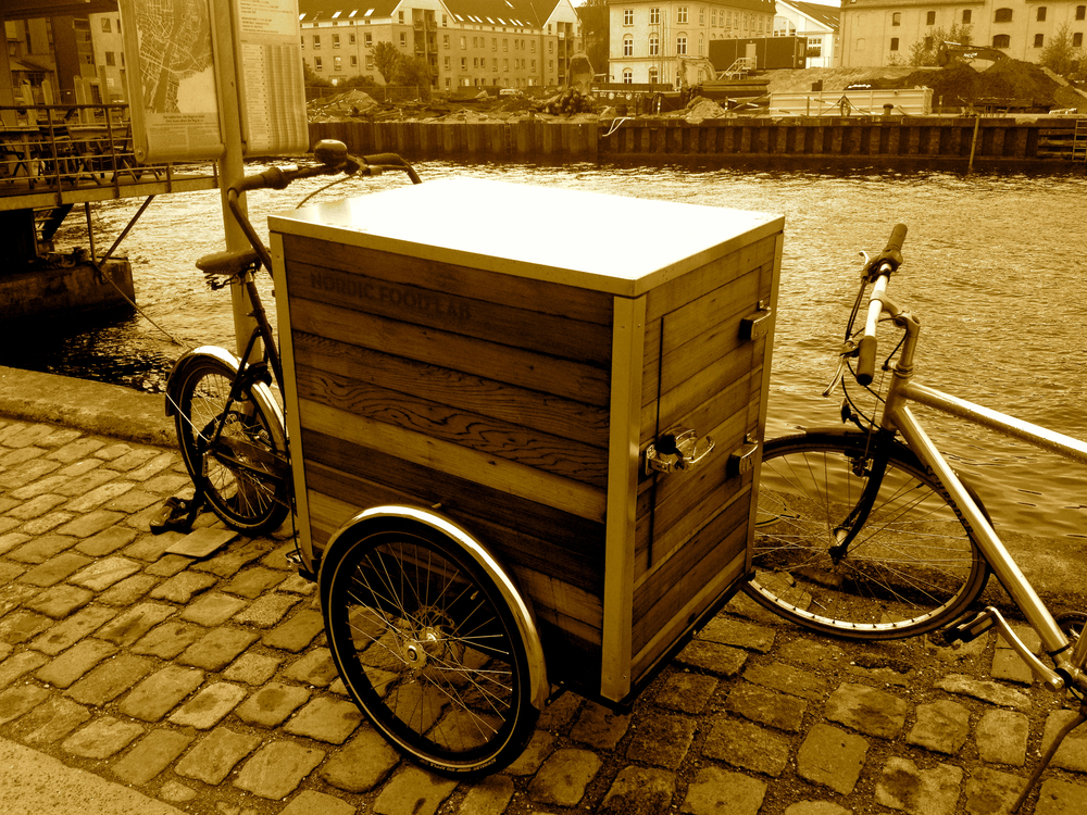 Bicycle to tote unique-flavored ice creams, such as  Søl .