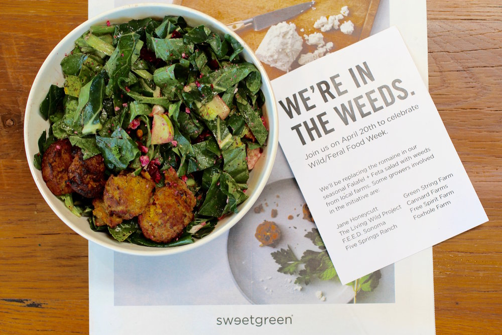 "Sweetgreen's  ""In the Weeds"" salad for WFFW 2016."