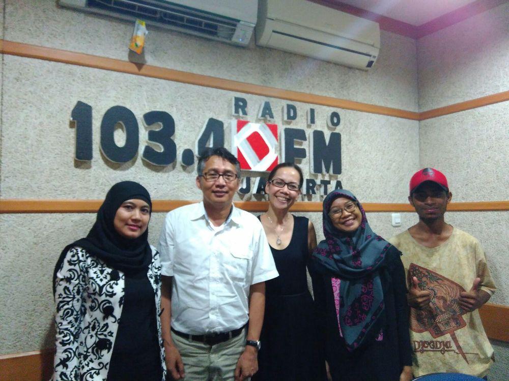 Narasumber : Bpk. Farhan Helmi (Ketua Green Voice Foundation), Vinus (Advisor Panel Maumere), Faza (Advisor Panel Jakarta)