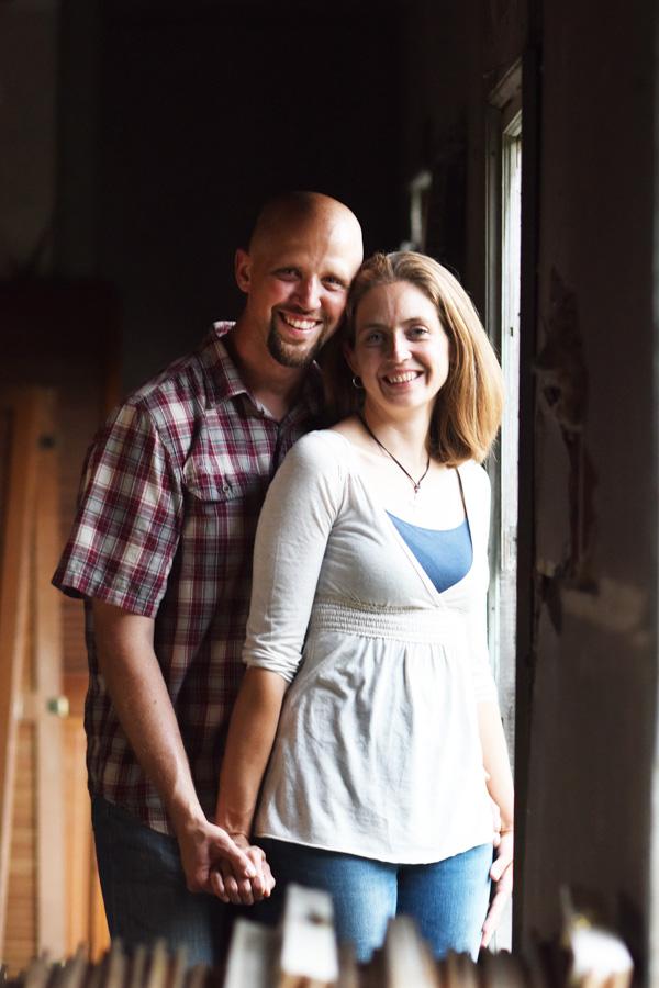 Derek and his wife, Lisa