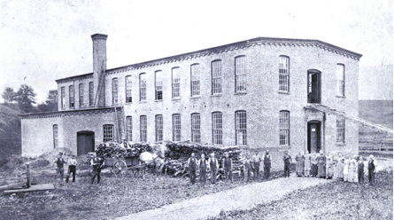 Photo of Loop, Hopkins & Company circa 1880, courtesy Williamstown Historical Museum