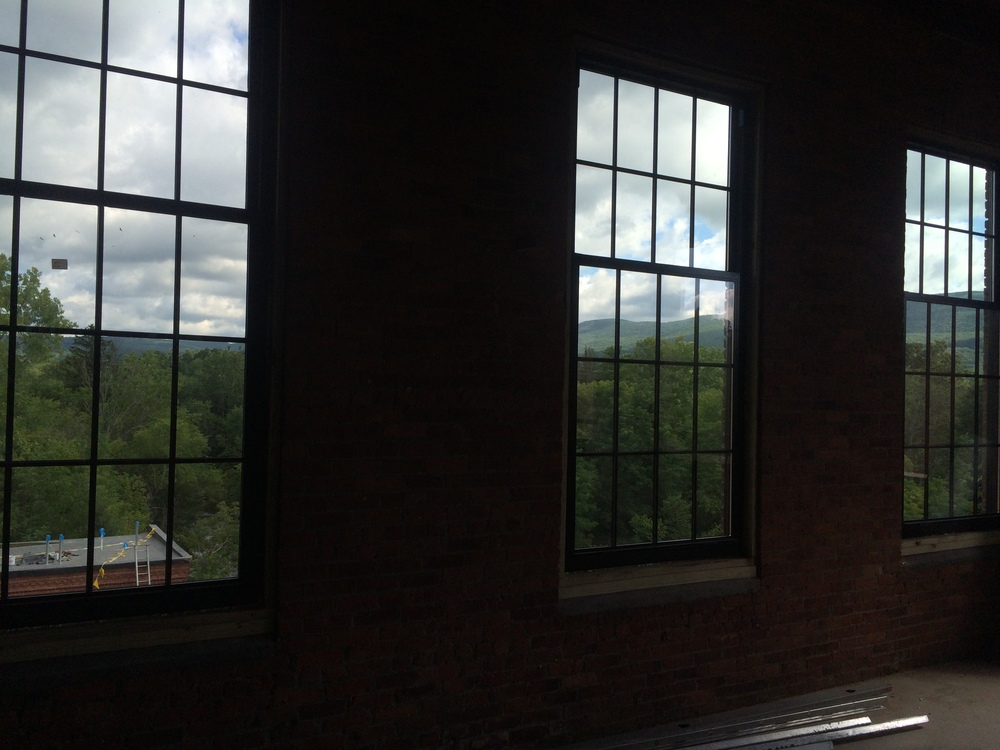 North facing view from the fourth floor of Cable Mills