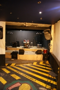 The Vault events room, band room, live music venue, convert venue at The Crescent Pub Salford