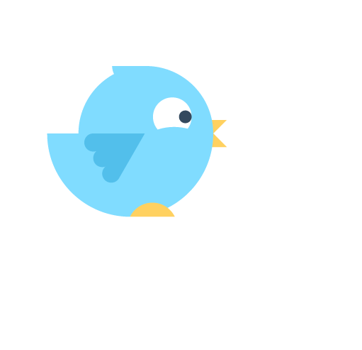 Twitter grew by 25% (1,535 new followers)
