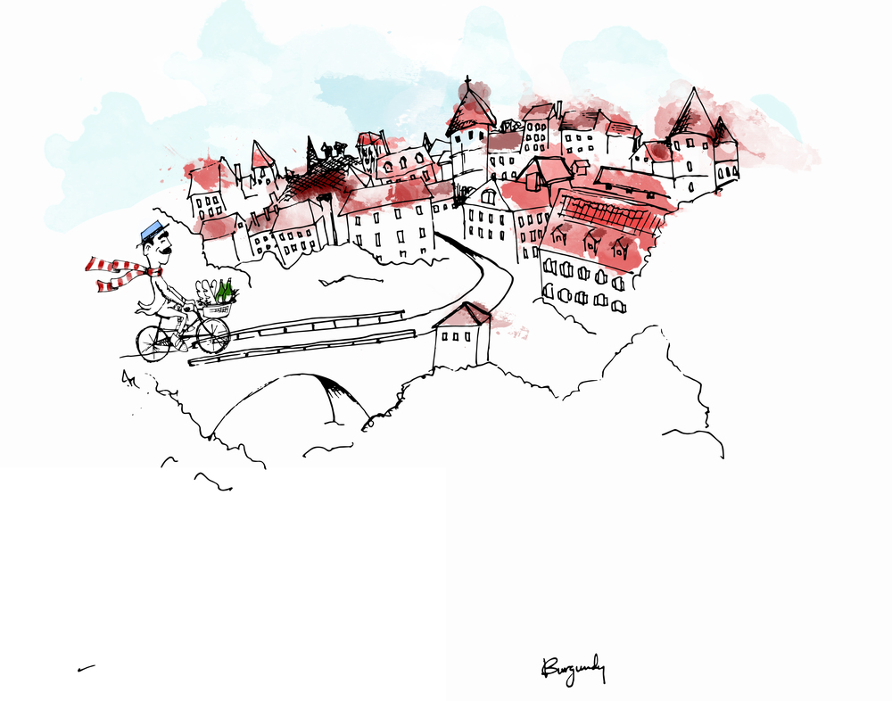 """Bernard Goes to Burgundy"" from Raconteur magazine"
