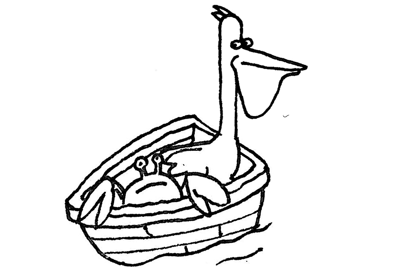 oak island pelican and crab.jpg