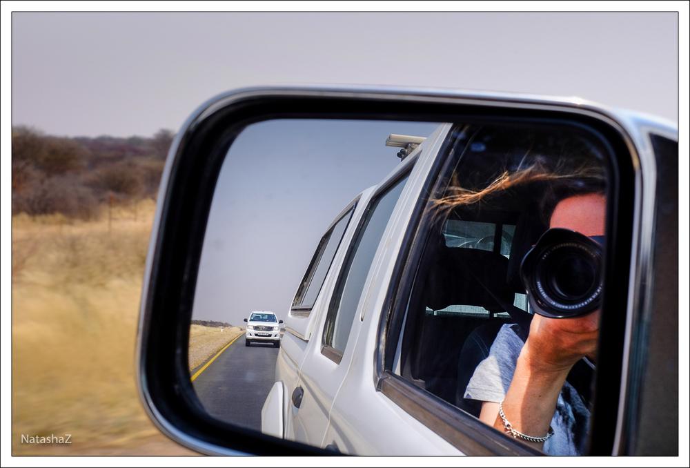 Die ersten Kilometer in Namibia